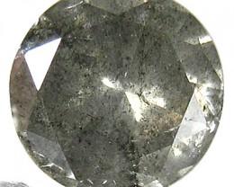 NATURALBLACK  DIAMOND-5.8MMSIZE--1PCS,0.70CTWSIZE-NR