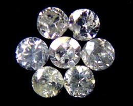 PPARCEL 7 WHITE VS 1.5 POINTER DIAMONDS 0.18CT OP1476