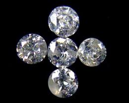 PARCEL 5 WHITE VS 1.6 POINTER DIAMONDS 0.258CT OP1495