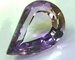 AMETRINE FACETED FLAWLESS BI-COLOUR  9.55 CTS  AS-311