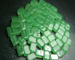 100% Natural Fancy Green Aventurine Beads B273