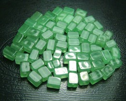 100% Natural Fancy Green Aventurine Beads B275