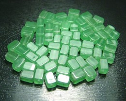 100% Natural Fancy Green Aventurine Beads B276