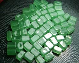 100% Natural Fancy Green Aventurine Beads B277