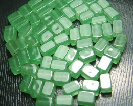 100% Natural Fancy Green Aventurine Beads B279