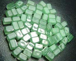 100% Natural Fancy Green Aventurine Beads B293