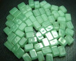 100% Natural Fancy Green Aventurine Beads B294