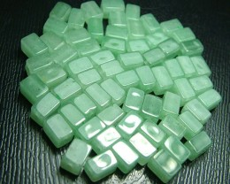 100% Natural Fancy Green Aventurine Beads B295