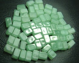 100% Natural Fancy Green Aventurine Beads B300