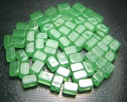 100% Natural Fancy Green Aventurine Beads B303
