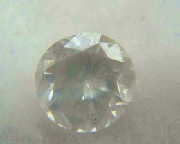 NATURAL WHITE DIAMOND-3.8MMSIZE-0.20CTWSIZE-1PCS,NR