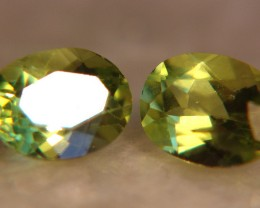 2.75 Carat Peridot Accents, 2 pcs, 8mm x 6, VS