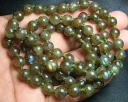 100% Natural Multicolor Labradorite Beads B404