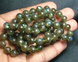 100% Natural Multicolor Labradorite Beads B405