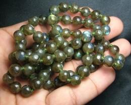 100% Natural Multicolor Labradorite Beads B406