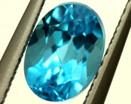 BLUE TOPAZ NATURAL FACETED 1.20 CTS PG-1321