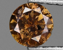NATURAL -COFFEEBROWN-DIAMOND-0.28CTWSIZE--1PC-NR