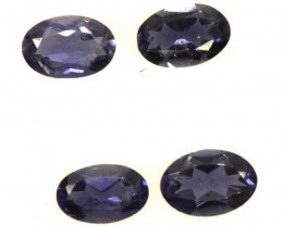 IOLITE FACETED STONE-2 PAIR 1.40 CTS  PG-1329