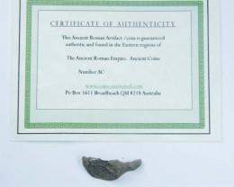 ANCIENT ROMAN ARTIFACT BRONZE RING TOP   OPAC1618