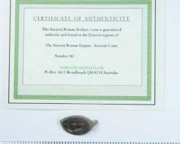 ANCIENT ROMAN ARTIFACT BRONZE  RING  TOP OPAC1647
