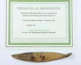 ANCIENT ROMAN ARTIFACT BRONZE TOOL  OPAC1654