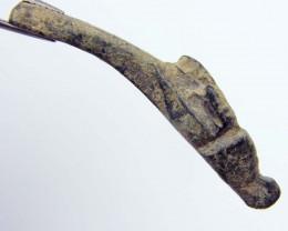ANCIENT ROMAN ARTIFACT BRONZE BRACELET ANIMAL  OPAC1658