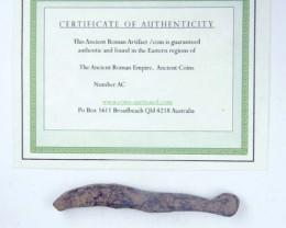 ANCIENT ROMAN  ARTIFACT DESERT PATINA OPAC1760