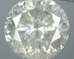 NATURAL WHITE DIAMOND-O.10CTWSIZE--3MMSIZE-1PCS,NR