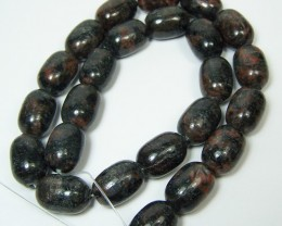 LIQUIDATION SALE~472ctw Amphibolite Gemstone Bead Strand