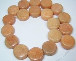 LIQUIDATION SALE~775ctw Peach Calcite Gemstone Bead Strand