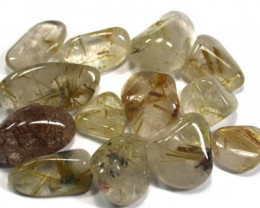 RULITE QUARTZ PARCEL-GOLDEN NEEDLES  150CTS  [MGW368]