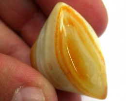NATURAL SHADES  N TONES IN THIS NOBBY AGATE 42 CTS  GW 183