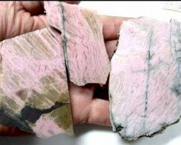 AUSSIE PINK JASPER  SLABS READY TO POLISH      . RN1435