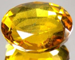 F/S GOLD TOPAZ SUN GOLD COLOUR CLEAN    11.80 CTS  GW 601