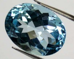 FREE SHIPPING LARGE TOPAZ  GEMSTONE  12 CTS  GW 651