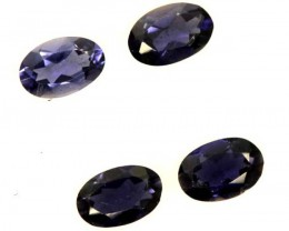 IOLITE FACETED STONE (2 PAIR) 1.40 CTS  PG-1317