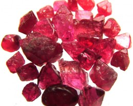 SPINEL  CRYSTAL ROUGH  PARCEL FROM MOGOK 20.30 CTS [F2301]