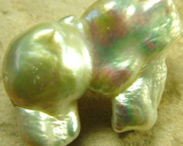 LARGE BLISTER PEARL DRILLED -HIGH LUSTER 39.90 CTS [PF1651]
