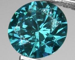 NICE BLUE DIAMOND .270 CTS SD-69