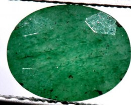 AVENTURINE FACETED EMERALD GREEN 2.05 CTS PG-673