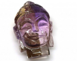 AMETRINE CARVING - BUDDHA 36.20 CTS LT-459