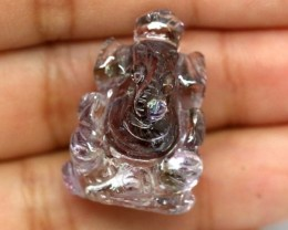 AMETRINE CARVING-INDIAN LORD GANESH 29.20CTS LT-477