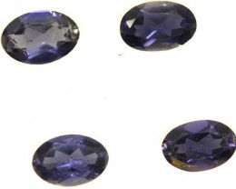 IOLITE FACETED STONE (2 PAIR) 1.40 CTS  PG-1324