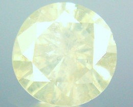 NATURAL-TINTEDWHITE- YELLOWDIAMOND,1.18CTW,6.8MM