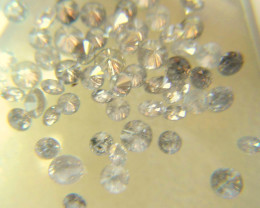 NATURAL WHITE DIAMOND-1.5MMSIZE-1CTWLOT,70PCS,NR