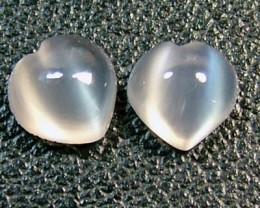 3.5 CTS  NATURAL MOONSTONE GEMSTONE (4 PC) CG-1459