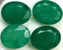 PARCEL 'EMERALD GREEN'  ADVENTURINE QUARTZ 12.30 CTS[TS6110]