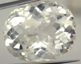 FACETED CLEAR CRYSTAL QUARTZ 40.85 CTS   PG-1490