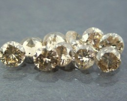 NATURAL BROWNDIAMOND-2.5-3mm size 5 ctw lot