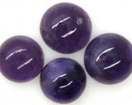 AMETHYST CABS (4 PC) 17.6 CTS CG-1298